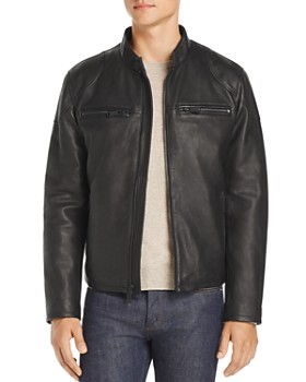 Leather Racer amp; Bloomingdale's Men's More Jackets Biker 8wq8dZp