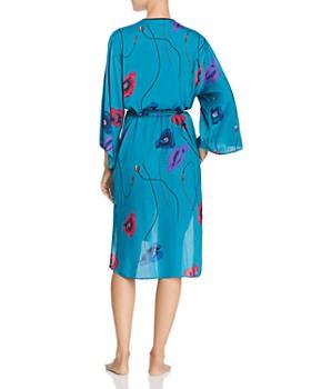 Josie - Freestyle Printed Satin Long Robe