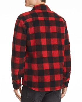 Levi's - Plaid Fleece Shirt Jacket