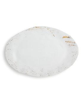 VIETRI - Gold Splatter Oval Platter - 100% Exclusive