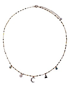 """Jules Smith - Lunette Necklace, 15"""""""