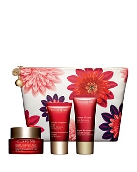 Clarins - Super Restorative Age Fighters Skin Solutions Gift Set ($185 value)