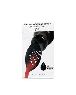 L'Atelier du Vin - Black Soft Aerating Pourer, Set of 5