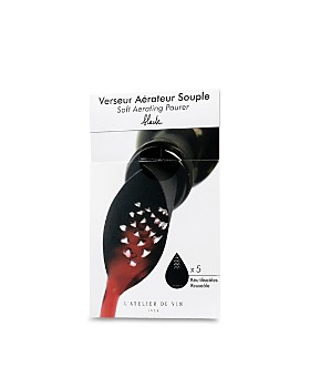 L'Atelier du Vin - Black Soft Aerating Pourer, Set of 5