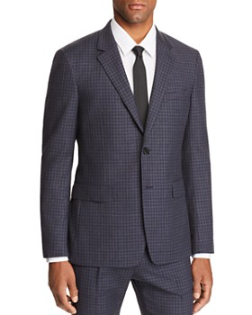 Theory - Sartorial-Check Slim Fit Wool Suit Jacket