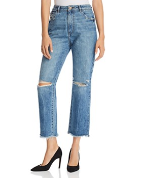 DL1961 - Jerry High Rise Vintage Straight Jeans in Veracruz
