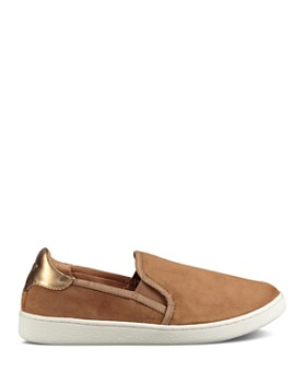 UGG® - Women's Cas Leather Slip On Sneakers