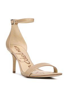 1c00c3d209623 Sam Edelman Women's Ariella High-Heel Ankle Strap Sandals ...