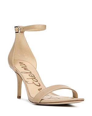 Sam Edelman Women's Patti Open Toe Leather High-Heel Sandals