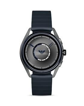 Emporio Armani - Blue Strap Touchscreen Smartwatch, 43mm