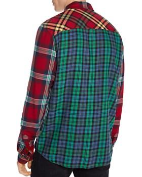 Scotch & Soda - Patchwork Check Regular Fit Shirt