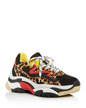 Ash - Women's Addict Mixed-Media Lace-Up Sneakers