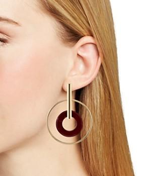 AQUA - Double Loop Drop Earrings - 100% Exclusive