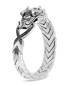 John Hardy Sterling Silver Legends Naga with Black Spinel & Blue Sapphire Eyes Bracelet - Bloomingdale's_0