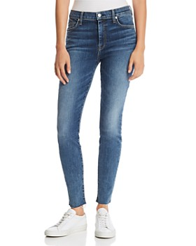 b479bf85 7 For All Mankind - High Waist Ankle Skinny Jeans in B(air) Authentic ...