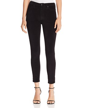 Joe's Jeans - Velvet Skinny Jeans in Black