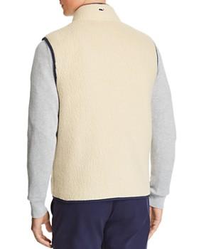 Vineyard Vines - Heritage Sherpa Faux-Shearling Vest