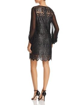 Elie Tahari - Merida Metallic Embroidered Dress