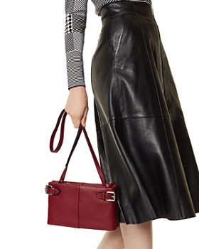 KAREN MILLEN - Medium Leather Crossbody