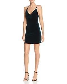 Tiger Mist - Mackenzie Velvet Dress
