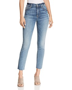 7 For All Mankind - Edie Skinny Jeans in B(air) Authentic Fortune