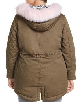 JUNAROSE Plus - Yola Faux Fur Trimmed Parka
