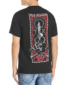 True Religion - Lit Skull Graphic Tee