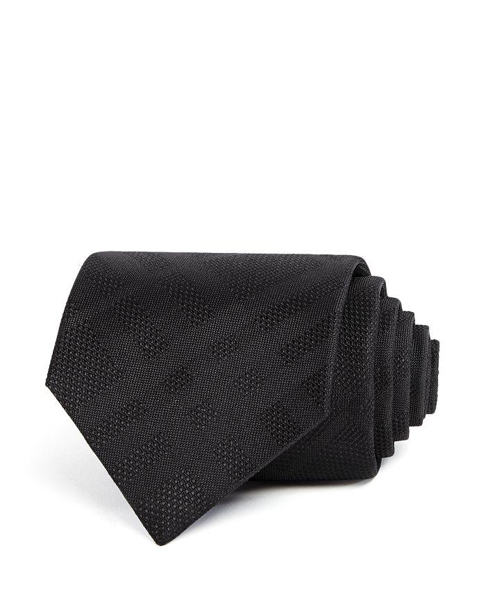 Burberry - Clinton Tonal-Check Silk Classic Tie