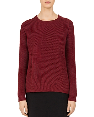 Gerard Darel Carolina Directinal-Rib Sweater