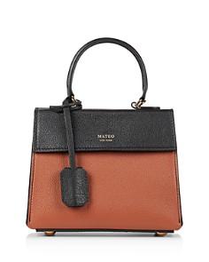 MATEO - Elizabeth II Mini Leather Crossbody