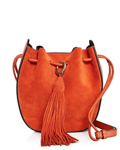Rebecca Minkoff - Lulu Medium Suede Crossbody
