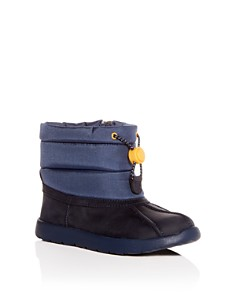 UGG® - Boys' Waterproof Leather Puffer Boots - Walker, Toddler