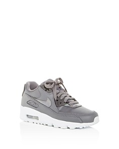 Nike - Girls' Air Max 90 Leather Lace Up Sneakers - Big Kid