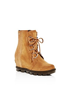 Sorel - Girls' Joan of Arctic Wedge II Waterproof Suede Boots - Little Kid, Big Kid
