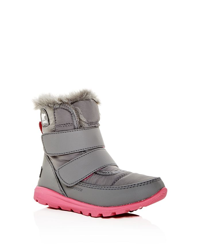 Sorel - Girls' Whitney Waterproof Cold-Weather Boots - Toddler, Little Kid