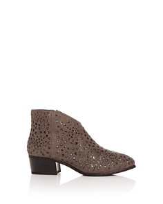 VINCE CAMUTO - Girls' Philapia Cutout Glitter Low-Heel Booties- Toddler, Little Kid, Big Kid