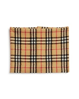 Burberry - Girls' Vintage Check Cashmere Snood