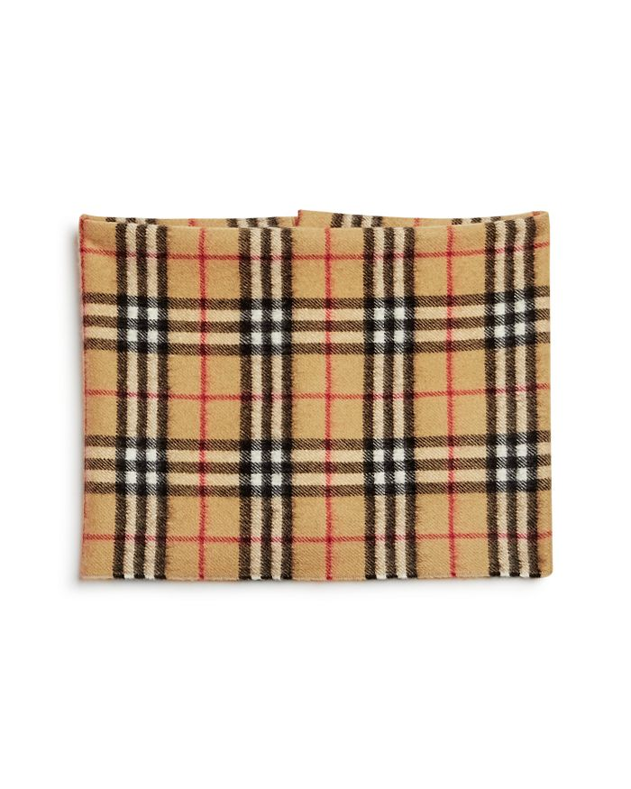Burberry - Girls' Vintage Check Cashmere Snood