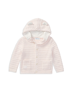 Ralph Lauren Girls Hooded Cotton Cardigan with Bear Ears  Baby