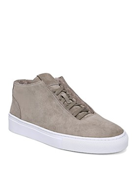 Via Spiga - Women's Sartin Suede & Shearling Sneakers