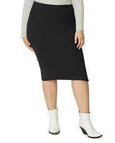 Sanctuary Curve - Knit Pencil Skirt
