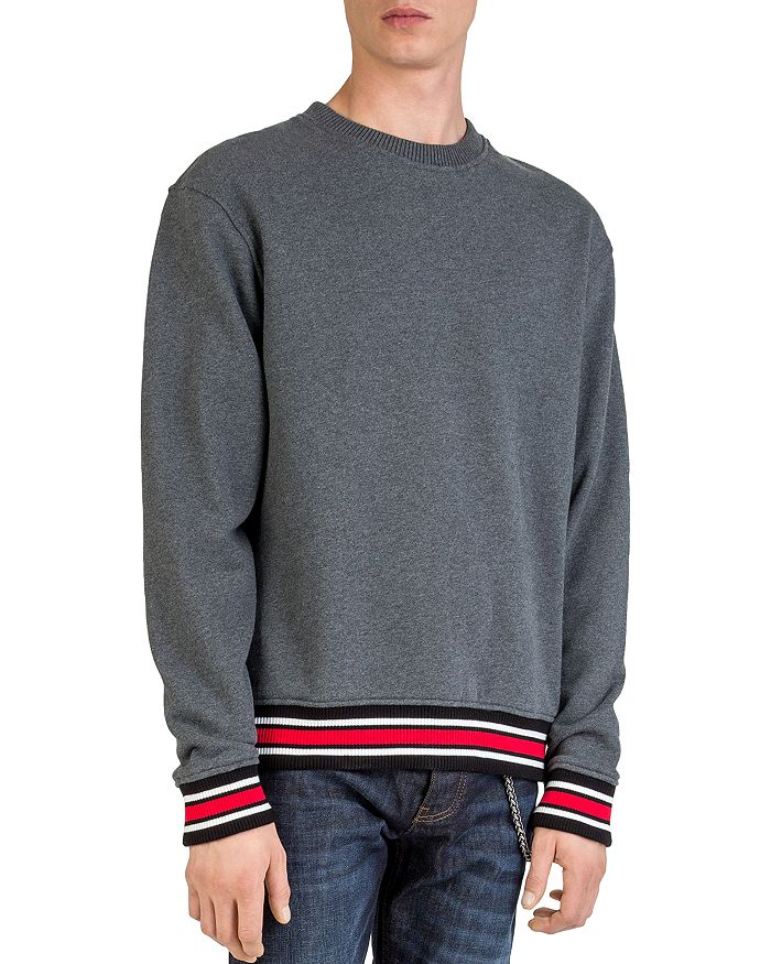 The Kooples - Striped-Border Sweatshirt