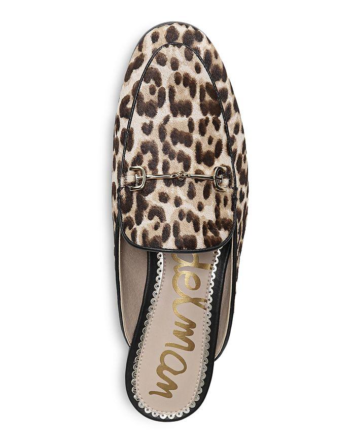 b6dc9b4a8bd482 Sam Edelman Women s Linnie Leopard Print Calf Hair Mules ...