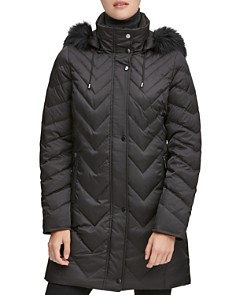 Marc New York - Roxbury Matte Satin Puffer Coat