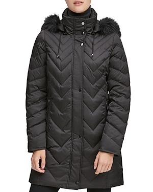 Roxbury Matte Satin Puffer Coat