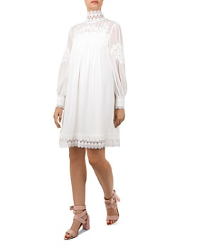Ted Baker - Kathiea Lace-Trimmed Tunic Dress