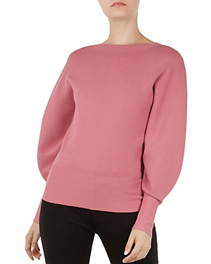 Ted Baker Sweaters POPSAH BALLOON-SLEEVE SWEATER