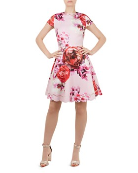 Ted Baker Seeana Splendour Scalloped Dress