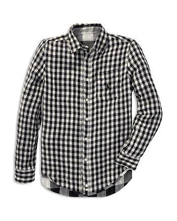 313b06a4d Ralph Lauren Boys' Twill Contrast Plaid Shirt - Big Kid   Bloomingdale's