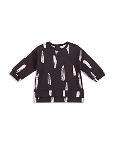 Miles Baby Girls' French Terry Paint Stroke Top - Baby - Bloomingdale's_0
